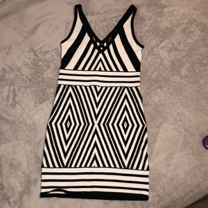 Bebe stretch mini dress